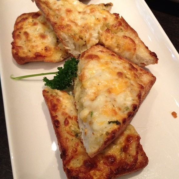 Garlic Cheese Bread - The Keg Steakhouse + Bar - Yaletown, Vancouver, BC