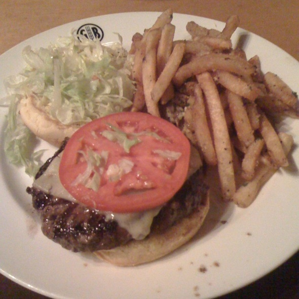 Kobe Cheeseburger - Gordon Biersch Brewery Restaurant - Midtown, Atlanta, GA
