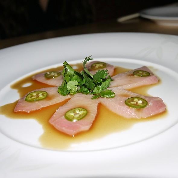 Yellowtail Sashimi with Jalapeno - Nobu Fifty Seven, New York, NY