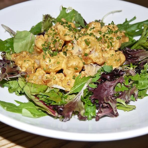 Rock Shrimp served on Limestone Lettuce - Nobu Fifty Seven, New York, NY