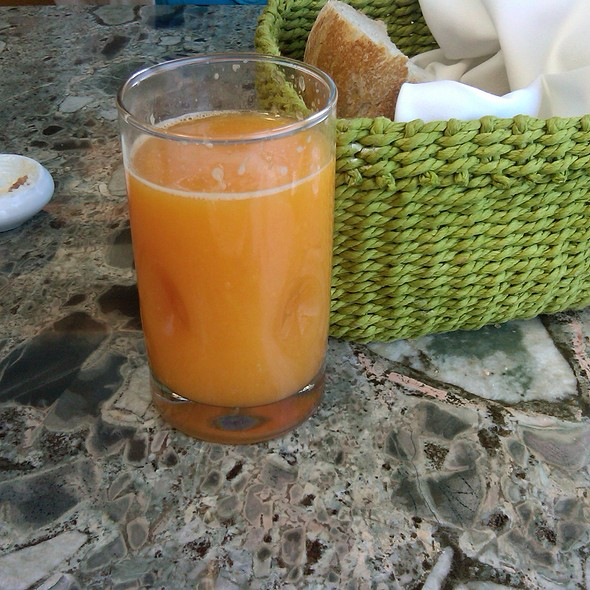 Blood Orange Juice - Barbarella, La Jolla, CA