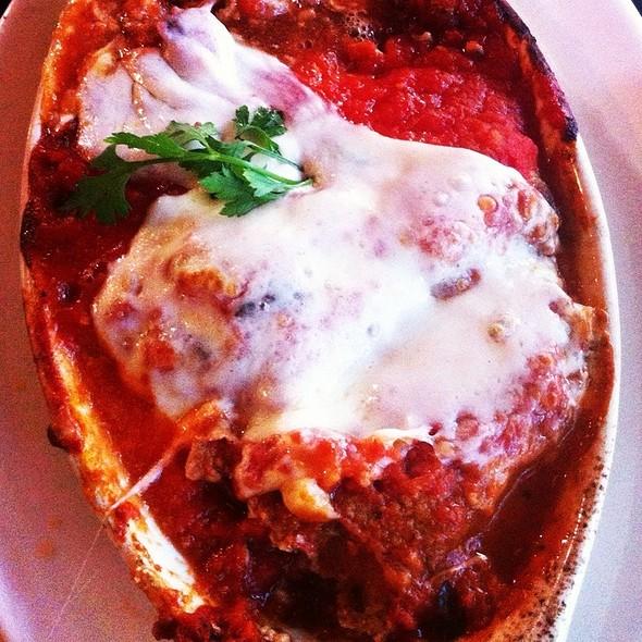 Eggplant Rollatini - Yvonne's Cafe, Ocean Grove, NJ