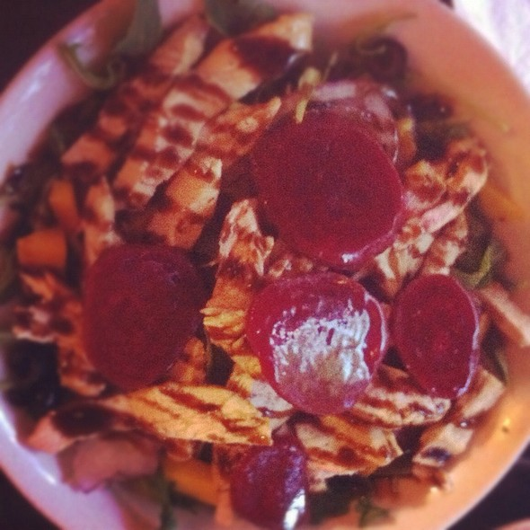 Grilled Chicken And Beet Salad - Yvonne's Cafe, Ocean Grove, NJ