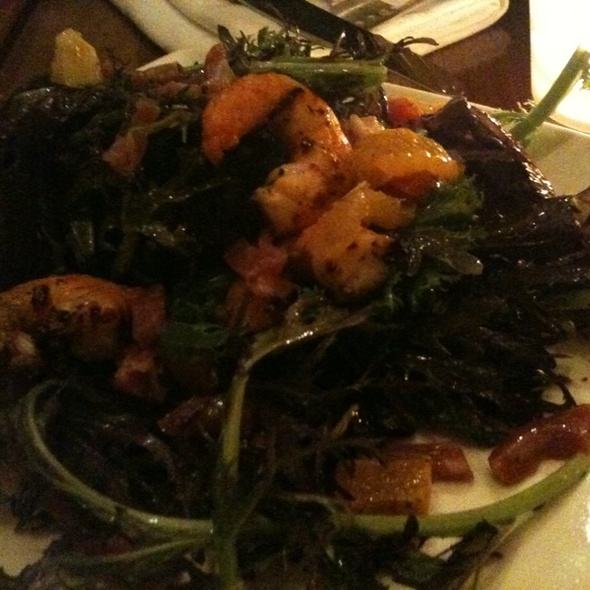 shrimp salad - Vin Antico, San Rafael, CA