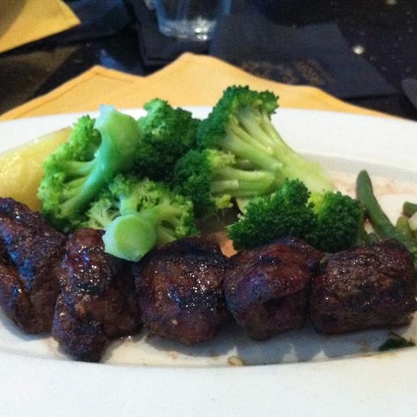 Lamb Souvlaki - Aegean Restaurant, Framingham, MA
