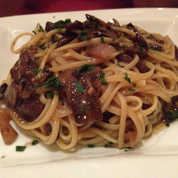 Mushroom Pasta - Angelique Euro Cafe, Coral Gables, FL