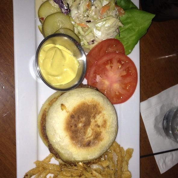 Buffalo Burger - The Palace Restaurant and Saloon, Santa Fe, NM