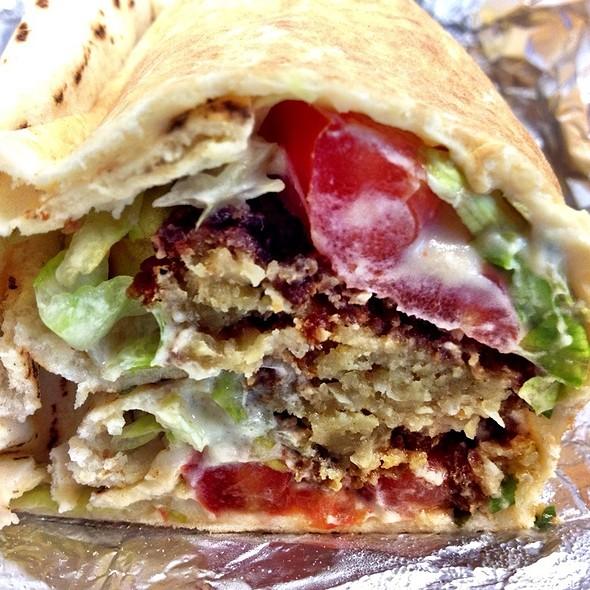 Falaffel Sandwich - Marouch Restaurant, Los Angeles, CA