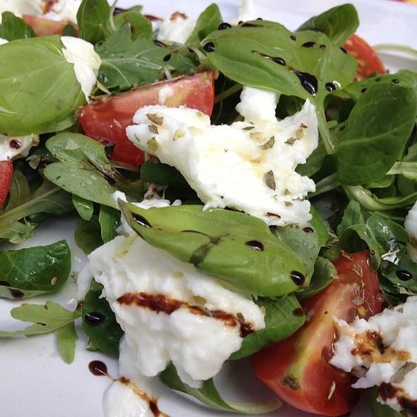 Mozzarella and Tomato Salad - Casa Sibilla, London