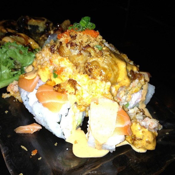 Lobster Volcano Roll - SAII Bistro, Oklahoma City
