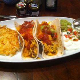 Breakfast Tacos - Springhouse Cafe - Hyatt Regency, San Antonio, TX