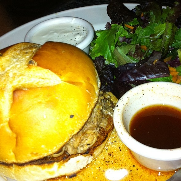 Pulled Pork Sandwich - Iron Hill Brewery - West Chester, West Chester, PA