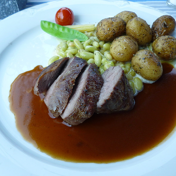 Lamb with Beans and Potatoes - Altes Fischerhaus, Düsseldorf, NW