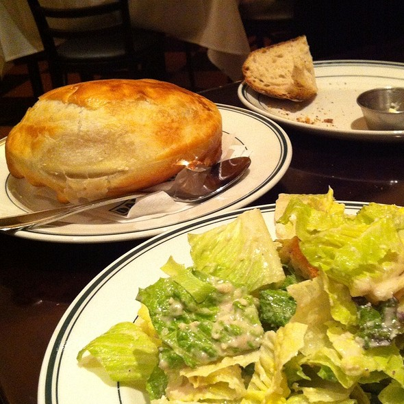 Mini Pot Pie & Salad - Daily Grill - Houston Westin Hotel, Houston, TX