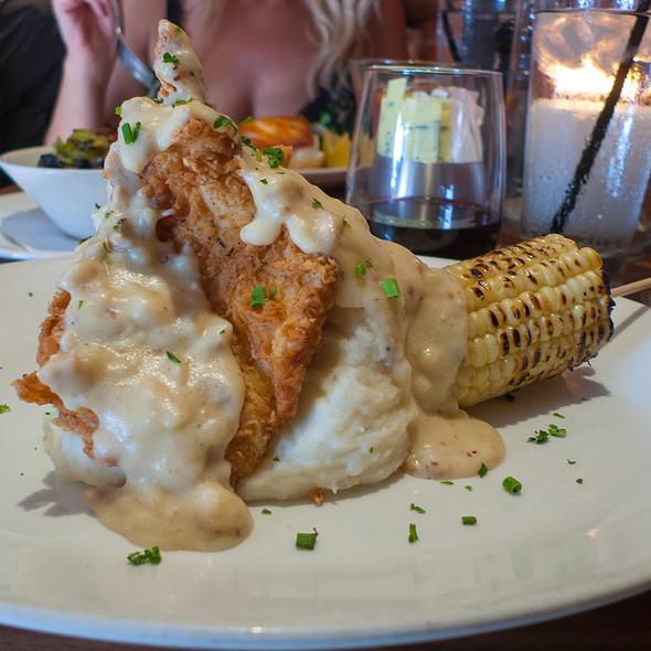 Buttermilk Fried Chicken Plate - Nick's Laguna Beach, Laguna Beach, CA