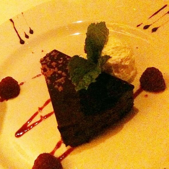 Chocolate Expresso Cake - The Capital Grille - NY- Wall Street, New York, NY