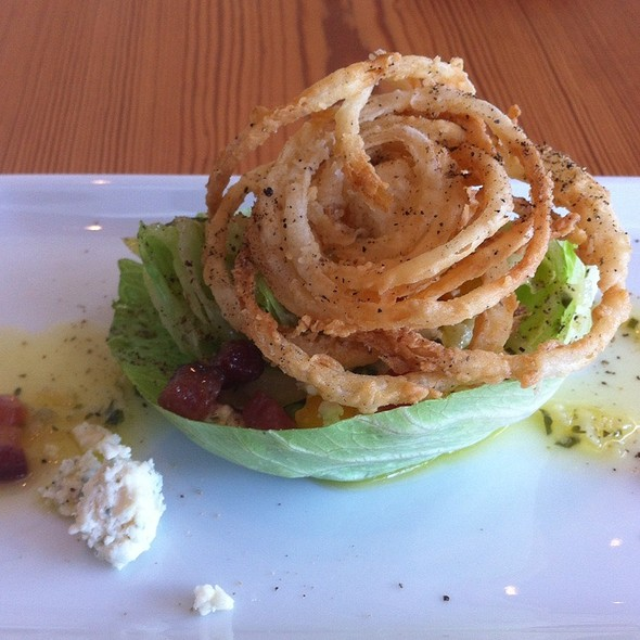 Baby Iceburg Wedge Salad - Bliss Restaurant, San Antonio, TX