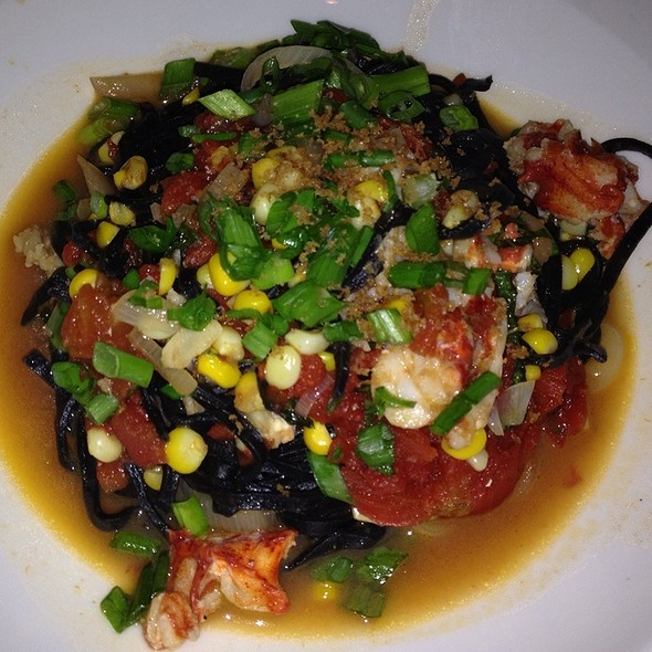 Black Ink Linguini With Seafood In Parchment - Lucca North End, Boston, MA