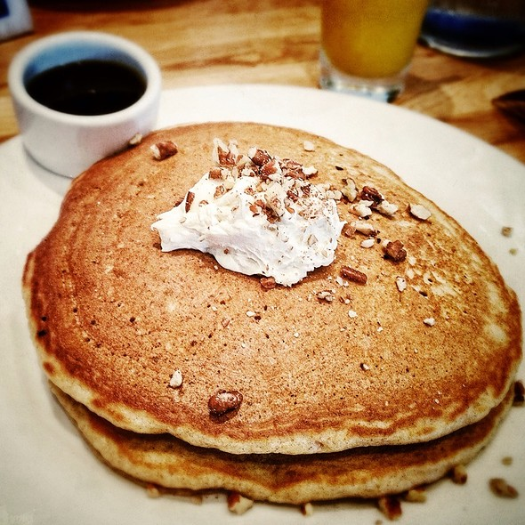 Whole Wheat Carrot Pancakes - Kingsbury Street Cafe, Chicago, IL