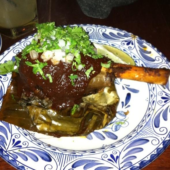 Chamorro de Cordero - Colibri - Mexican Bistro, San Francisco, CA
