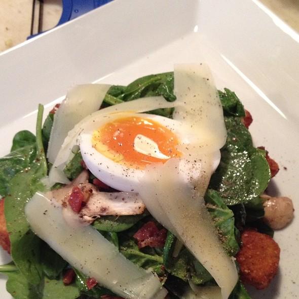Warm Spinach Salad - Rapture, Charlottesville, VA