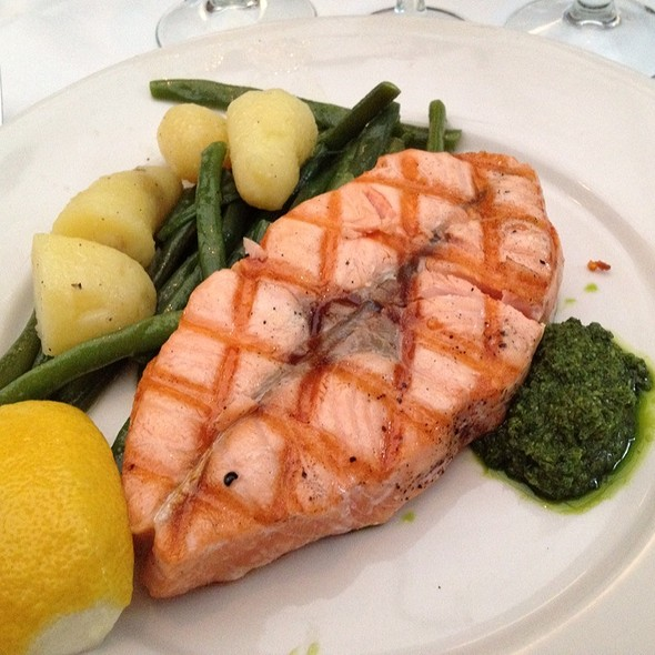 Grilled Salmon - Bottino, New York, NY