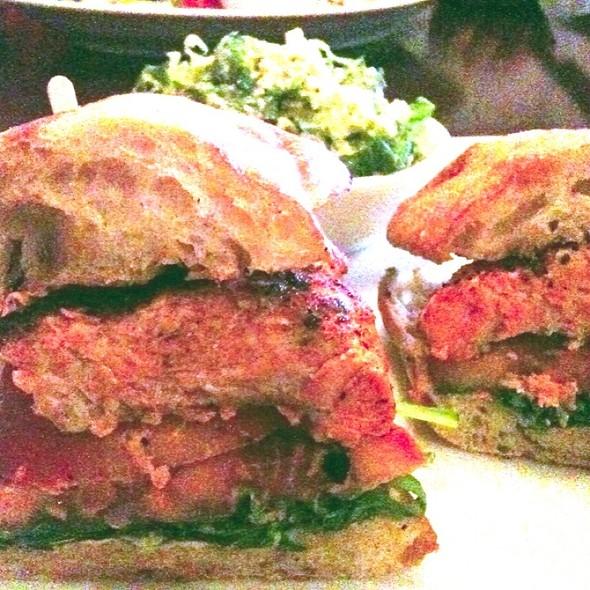 Blackened Salmon Sandwich - Vault 164, San Mateo, CA