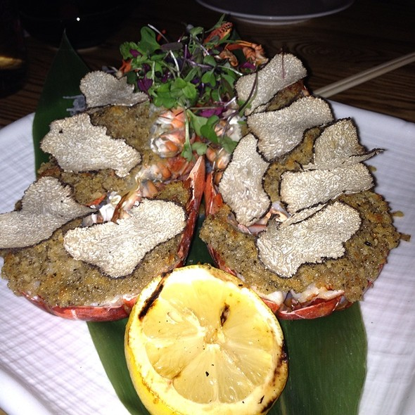 Baked Lobster With Buttered Summer Truffles - Nobu Las Vegas - Hard Rock Hotel & Casino, Las Vegas, NV