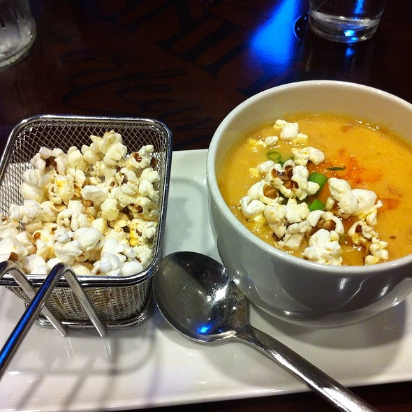 Abita Beer Cheese Soup - Manning's Restaurant - Harrah's New Orleans, New Orleans, LA