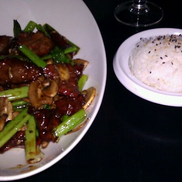 Mongolian Beef - Enso Asian Bistro & Sushi Bar, Charlotte, NC