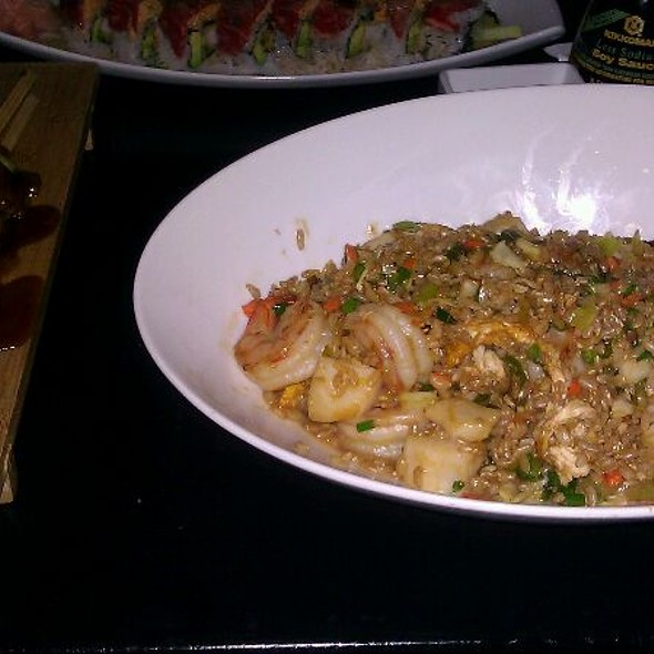Seafood Fried Rice With Shrimp, Bay Scallops, Lobster And Egg - Enso Asian Bistro & Sushi Bar, Charlotte, NC