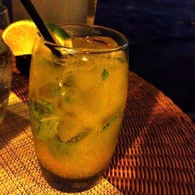 Mango Mojito - Carbon Beach Club Restaurant (The Dining Room) @ Malibu Beach Inn, Malibu, CA