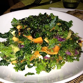 Kale Salad - Carbon Beach Club Restaurant (The Dining Room) @ Malibu Beach Inn, Malibu, CA