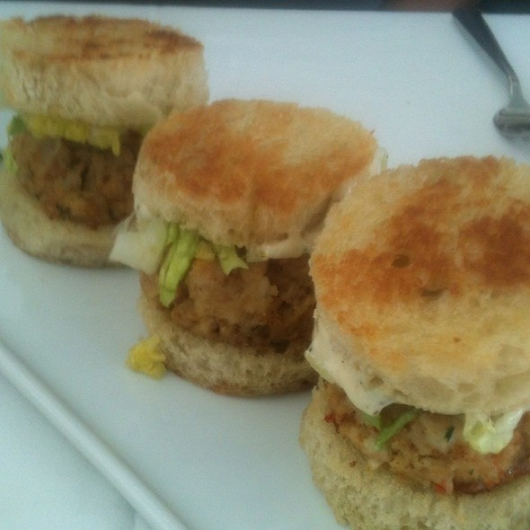 Trio Of Shrimp Cake Sliders - Spring House Restaurant, Kitchen & Bar, Winston-Salem, NC