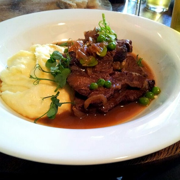 Ox Cheek - The Drapers Arms, London
