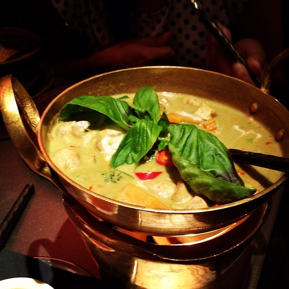 Vegetable Green Curry - Patara - Oxford Circus, London