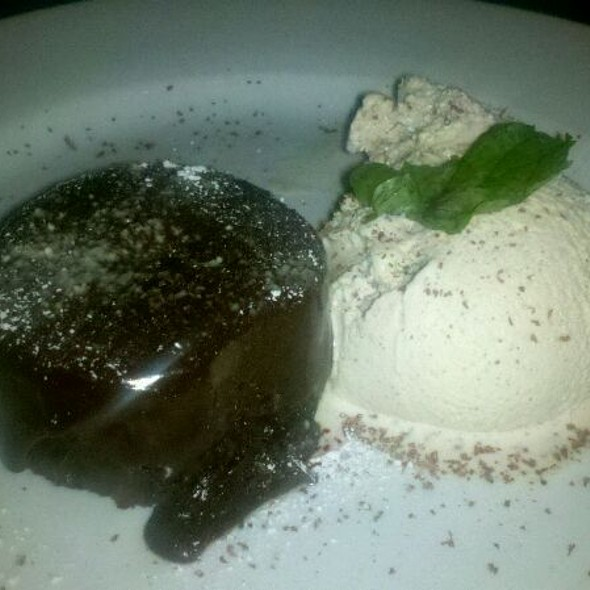 Melting Chocolate Cake - Grotto, Boston, MA