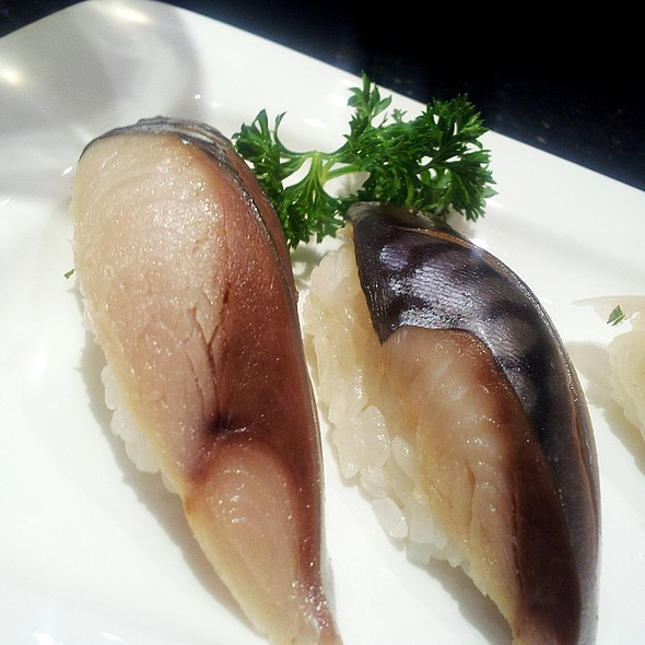 saba nigiri - Cafe Ginger, Houston, TX