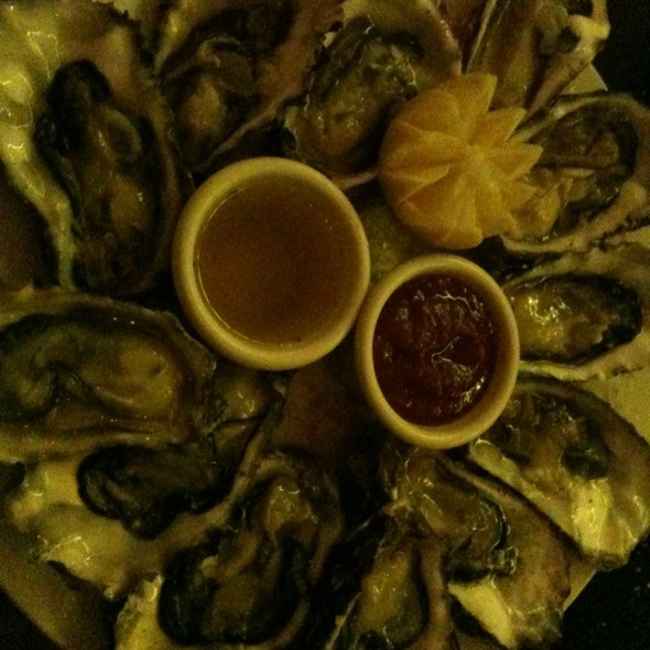 12 Oysters on the Half Shell - Dobson's Bar & Restaurant, San Diego, CA
