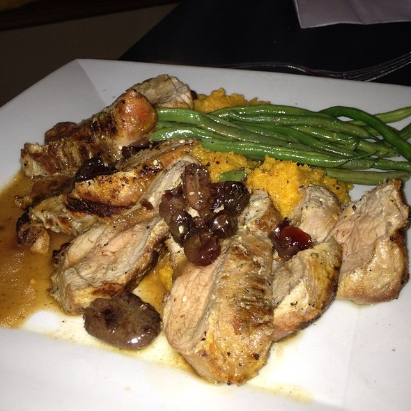 Pork Tenderloin Over Mashed Sweet Potato - The Grill Room - Hauppauge, Hauppauge, NY
