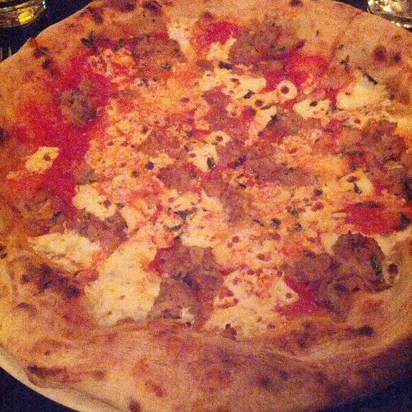 Meatball Pizza - POSTO, Somerville, MA
