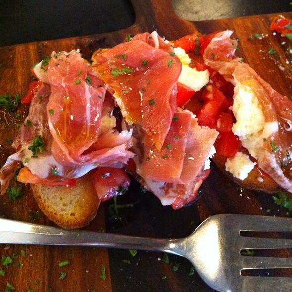 Bruschetta With Prosciutto - Francesca's al Lago, Madison, WI