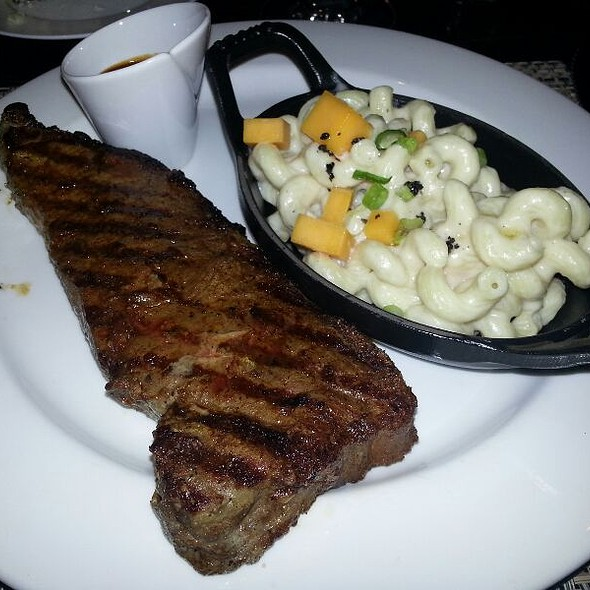 New York Strip - 024 Grille, Houston, TX