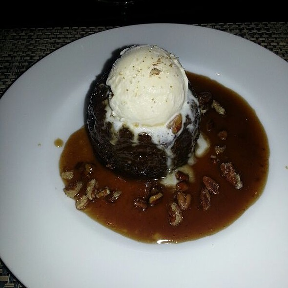 Texas Sticky Toffee Pudding - 024 Grille, Houston, TX