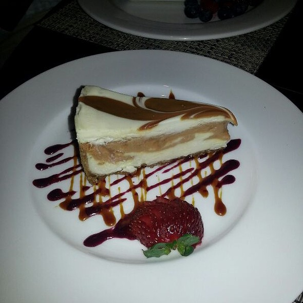 Praline Pecan Cheesecake - 024 Grille, Houston, TX
