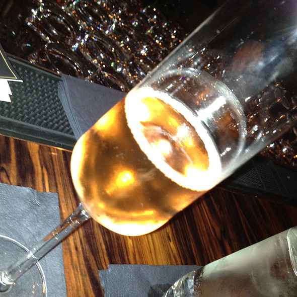 Schramsberg Mirabelle Brut Rose/ Napa sparkling wine - Ça Va Lounge by Todd English, New York, NY