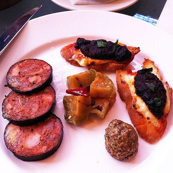 Andouille Sausage - Emeril's Delmonico, New Orleans, LA