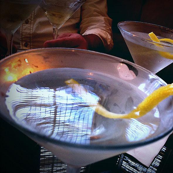 Martinis - Emeril's Delmonico, New Orleans, LA