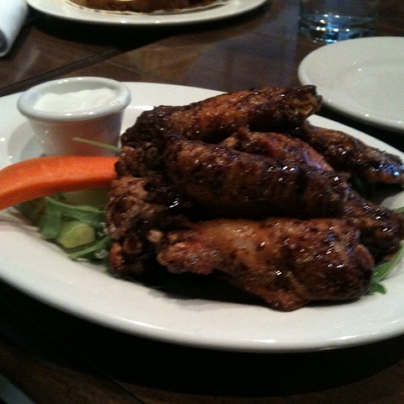 Sweet Soy And Garlic Chicken Wings - THE FOX, Toronto, ON