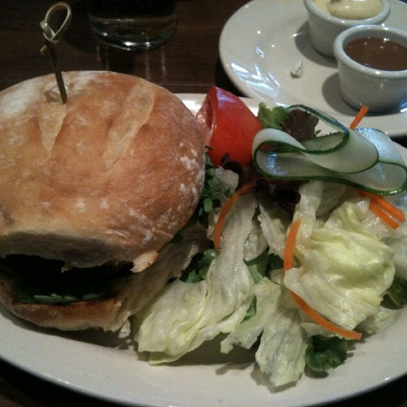 Turkey Burger - THE FOX, Toronto, ON